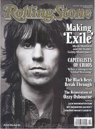 Keith Richards Rolling Stone Magazine May 27, 2010