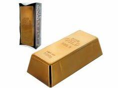 faux gold bar door stop