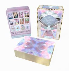 Please note: costs (and shipping) are in Canadian - 65$ CAD = 45$ USD Hello darling Starseeds! I am pleased to announce that The Starchild Tarot AKASHIC editio