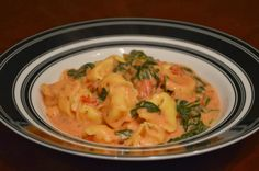 One Day At A Time - From My Kitchen To Yours: Spinach Tomato Tortellini