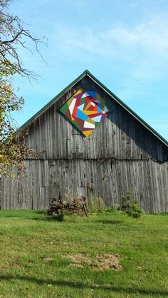 Barn Quilt. Door Cty. Wisconsin