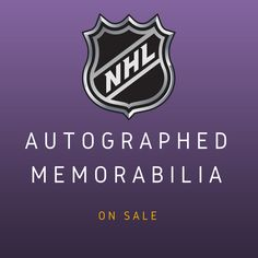 d626faed4 Official Autographed Hockey Memorabilia for Sale - Click