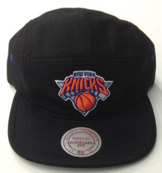 NBA New York Knicks Mitchell And Ness Five Panel Buckle Back M&N Cap Hat NEW! in Sports Mem, Cards & Fan Shop, Fan Apparel & Souvenirs, Basketball-NBA | eBay