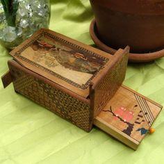 Antique Japanese Puzzle Box