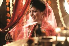 The Blushing Punjabi Bride  #BeautifulBrides