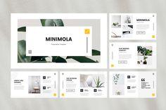 Minimola - Minimalist Keynote Template
