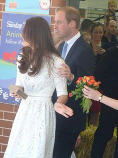 4/18/14 Wiliam & Kate at the Royal Easter Show in Sydney, Australia.