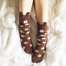 So cute and comfy! Fluffy Socks, Cozy Socks, Look Cool, Cool Style, My Style, Cute Slippers, Kawaii Clothes, Kawaii Fashion, Sock Shoes