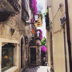 Beautiful morning in Taormina, Sicily! #TaorminaFilmFest #MontegrappaTaormina #TaoFF61