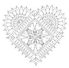 szydełkowe serce - Szukaj w Google