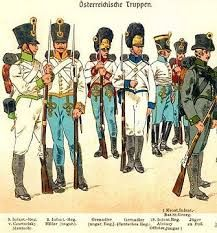 uniforms of austrian napoleonic infantry - Cerca con Google