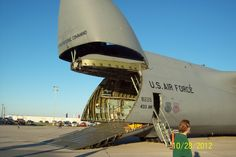 Almost ready to load - C-5 Galaxy