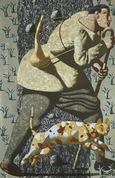 Green Knight, Various Artists, Cat Art, Contemporary Artists, Three Dimensional, Surrealism, Sculptures, Fine Art, Drawings