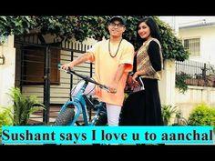 सुसान्त खत्री (SUSHANT KHATRI) को तर्फबाट  प्रेम प्रस्ताव नायिका आंचल शर... Loving U, Sushi, Dancer, Interview, Sayings, My Love, Youtube, Mens Tops, Movies