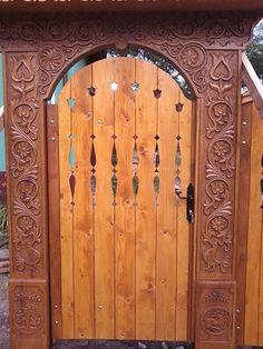 Decor, Plant Life, Wood, Carving, Fence Design, Home Decor