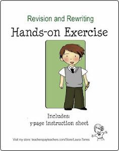 Fun Rewriting/Revising Activity - Re-pinned by @PediaStaff – Please Visit http://ht.ly/63sNt for all our pediatric therapy pins
