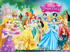 Disney Princesses - Smart Hearts by BeautifPrincessBelle on DeviantArt