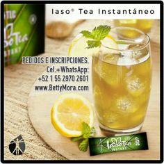Agrega limón a tu #IasoTea Instantáneo para darle un delicioso sabor y aumentar sus propiedades de desintoxicación.  #B1000F