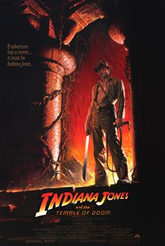 Indiana Jones and the Temple of Doom (1984) - My own favourite of the series (though the first runs it close), this has all I want in a summer blockbuster - thrills, spectacle, laughs and more than a little touch of horror!