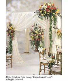 Tulle Wedding Decoration - Church Decorating