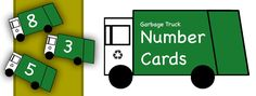 Number Recognition cards