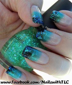 Galaxy by NailswithTLC - Nail Art Gallery nailartgallery.nailsmag.com by Nails Magazine www.nailsmag.com #nailart