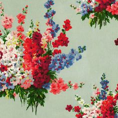 Woodstock Rose Digit wallpaper | CathKidston