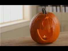 Pumpkin Carving Tips - How to Carve a Pumpkin - YouTube