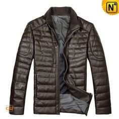 Leather Down Filled Jacket CW804283 www. cwmalls.com