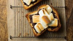 S'mores toast will be your new favorite dessert