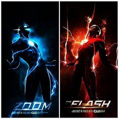 flash season 2. flash vs zoom