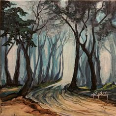 """A Path to Wander 10""""x10"""" by RachaelRector"""