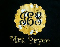 embroidered teacher shirts - Google Search