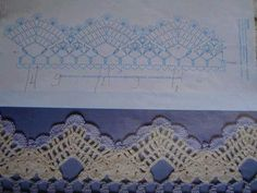 free crochet border edging - Bordo