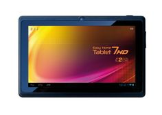 """¡Tenemos nueva tablet! Easy Home Tablet 7 HD  Oferta de lanzamiento hasta el 31mayo por 79,90 euros: pantalla de 7"""" en Alta Definición, procesador de doble núcleo, 4GB de memoria interna, conexión HDMI para que la conectes a la TV, sistema operativo Android 4.1, ranura para tarjetas de memoria MicroSD, compatibilidad con Flash 11 para reproducir vídeos en tiempo real y mucho más. Cómprala ya en nuestra tienda online.  We have a NEW TABLET! HD, Android 4.1, Dual core and more for 79,90 euros."""