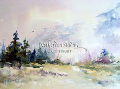 """Ranson's Favorite"" watercolor painting by Beth Verheyden"