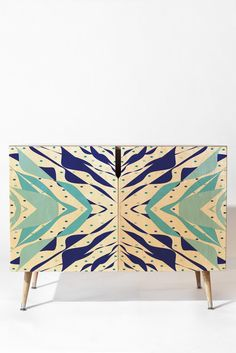 Rosie Brown Sail With Me Credenza   DENY Designs Home Accessories