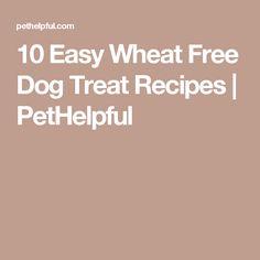 10 Easy Wheat Free Dog Treat Recipes   PetHelpful