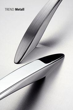 Trend Metall #möbelgriffe #knobs #einrichten #wohnen #trends #möbel