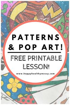 Free elementary math lesson – Teaching Patterns with pop art! Free elementary math lesson – Teaching Patterns with pop art! Art Activities For Kids, Art For Kids, Teaching Patterns, Math Patterns, Pop Art, Apple Coloring Pages, Homeschool Math, Homeschooling, Fun Math