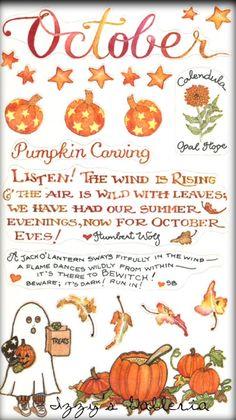 October ~ Susan Branch