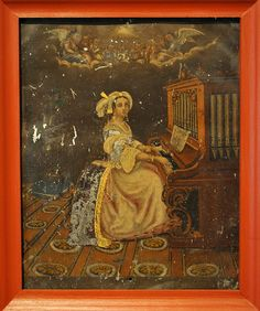 Saint Cecilia Mexico.     To all musicians and music lovers.. Happy St. Cecilia's Day. This 17th century Mexican painting of the saint is in the community museum of Sta Catarina Lachatao in Oaxaca, Mexico