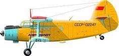 Aeroflot Antonov An2 Kukuruznik