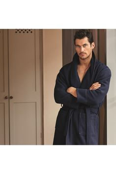 The David Gandy for Autograph luxurious robe.