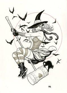 Harley Quinn by Frank Cho
