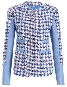 Are you tweeding for Spring? This Peter Som jacket will do it-check tweed and linen mix for a modern spin on a classic. $1280.00 at avenue32.com