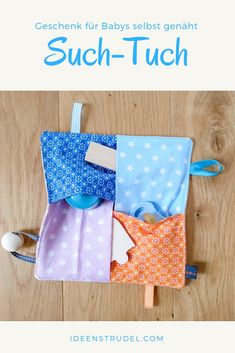Baby gifts sewn themselves - the Greif & Such-Tuch can find Gifts and more on our website.Baby gifts sewn themselves - the Greif & Such-Tuch Sewing Patterns Free, Free Sewing, Hand Sewing, Clothes Patterns, Sewing Hacks, Sewing Tutorials, Sewing Tips, Baby Toys, Baby Shower Gifts