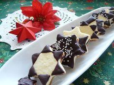 Fotorecept: Linecké hviezdičky Pudding, Sugar, Cookies, Ethnic Recipes, Desserts, Food, Basket, Crack Crackers, Tailgate Desserts