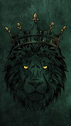 The latest iPhone11, iPhone11 Pro, iPhone 11 Pro Max mobile phone HD wallpapers free download, lion, predator, crown, big cat, art - Free Wallpaper | Download Free Wallpapers