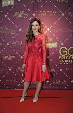 Emmanuelle Boidron aux Gold Prix De La TNT 2016